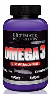 Ômega 3 1000mg 180 Softgels - Ultimate Nutrition
