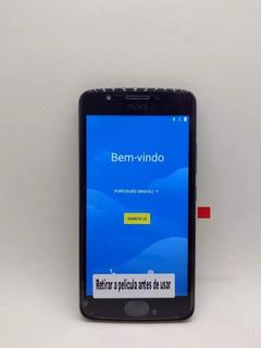 Telefone Modelo Moto E4 Cinza Xt1763 Seminovo 16gb Promoção