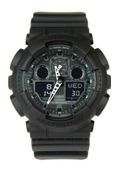 Casio G-shock Ga100 1a1 All Black Original Envio Imediato