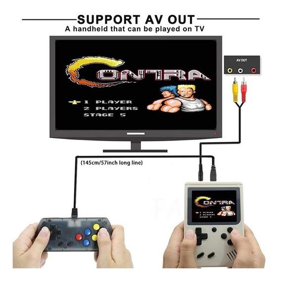 Mini Game Video Game Portátil 168 Jogos Brinquedo Criança