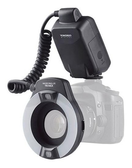 Flash Yn14ex C Macro Ring Lite Para Canon
