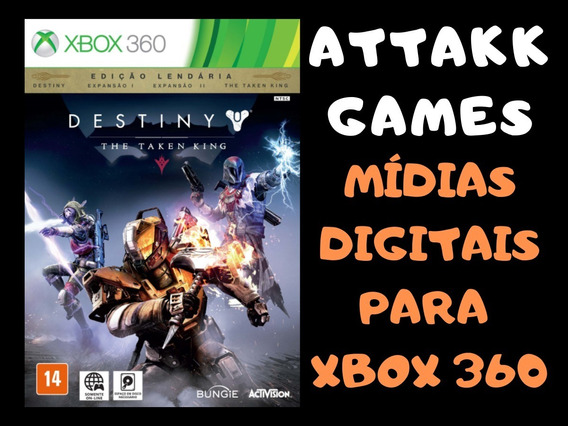 Destiny - Mídia Digital - Xbox 360