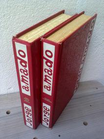 Lote 2 Livros Jorge Amado - Seara Vermelha + S. Jorge Ilhéus