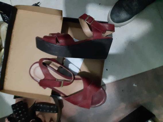 Zapatos Bordeaux