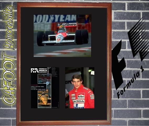 Ayrton Senna Campeon Formula 1 Uno 1988 Fotos Y Programa