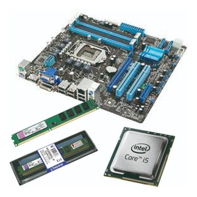 Kit Placa Mãe Intel 1155 + I5 2400 + 8gb Ddr3