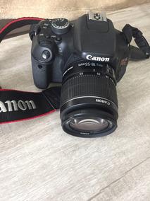 Câmera Canon Eos Rebel T3i + Lente 18-55mm, Bateria E Mais