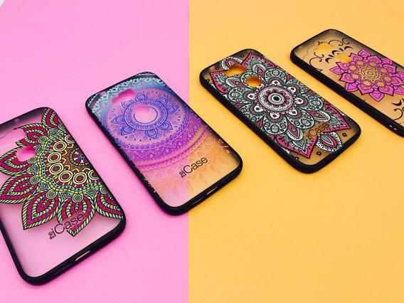 Funda Tpu Pc Diseño Mandalas Para Huawei G8