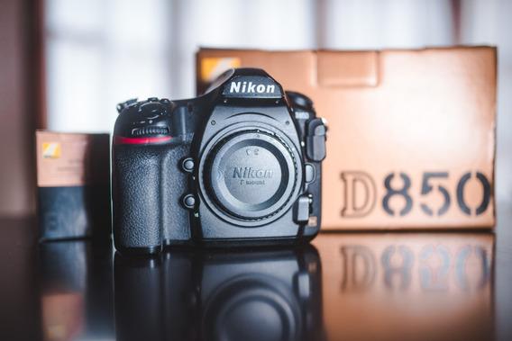 Camara Nikon D850 Body Fx-format Digital Slr 45.7mp