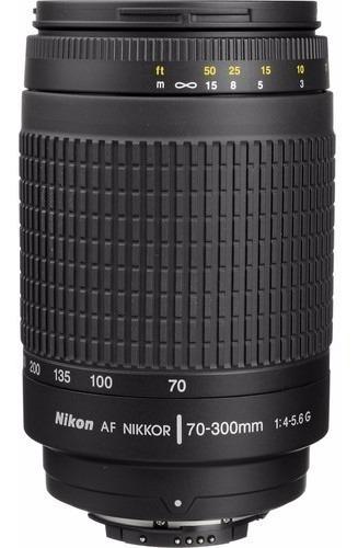 Lente Nikon 70-300mm Af F/4-5.6g Fx Parasol Garantia1ano Nfe
