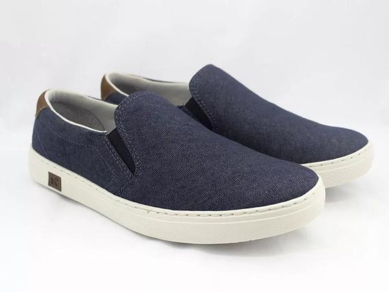 Sapatênis Dockside Masculino Kildare Lona Jeans