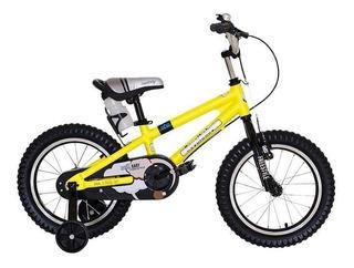 Bicicleta Niño Royal Baby Freestyle Rod 16 Aluminio