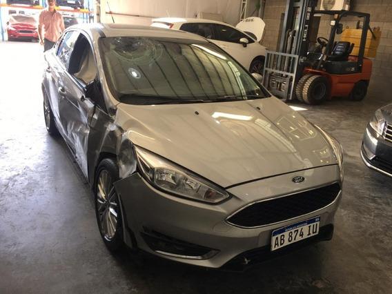 Ford Focus Iii Se Plus 2017 Chocado Ab874