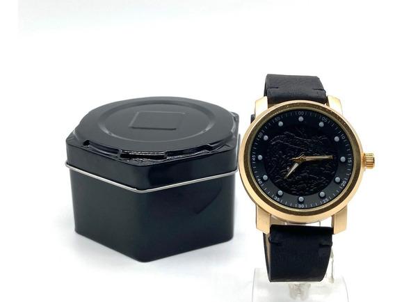 Relógio Masculino Promoção Tipo Yakuza + Caixa +bateria