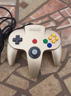 Control Nintendo 64 Original Dorado Gold Legend Of Zelda N64