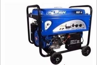 Generador Lifan 6gf-4 6kw Premium