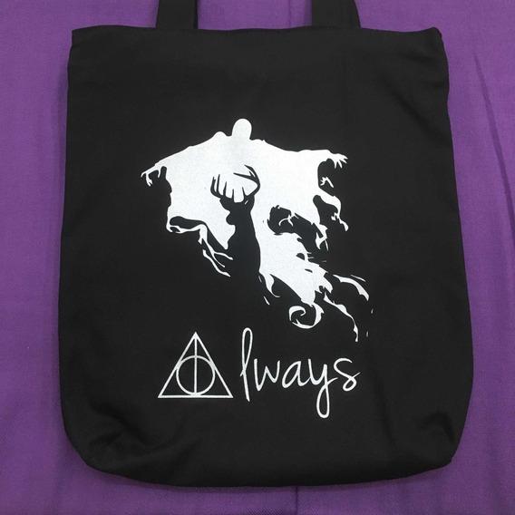 Bolsa Tecido Harry Potter Always Ecobag