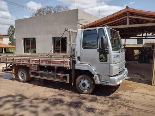 Imagem 1 de 9 de Ford Cargo 816 Carroceria De Madeira