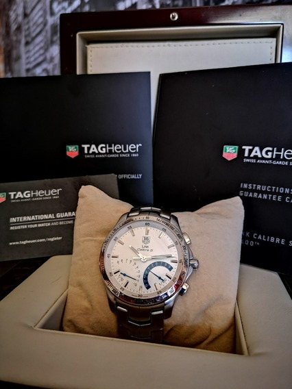 Relógio Tag Heuer Link Calibre S Completo