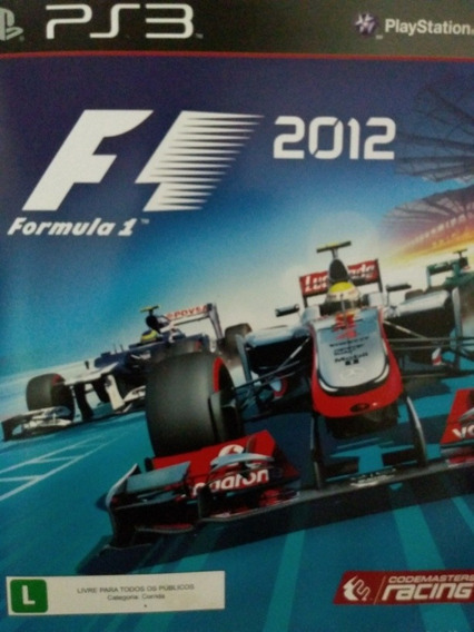 Formula 1 2012 Ps3 Original , Mídia Física, A Pronta Entrega