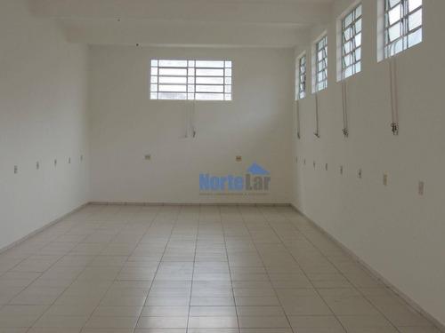 Imagem 1 de 7 de Salão Comercial Jardim Princesa Brasilândia 120 Metros, 2 Wcs - Sl0096