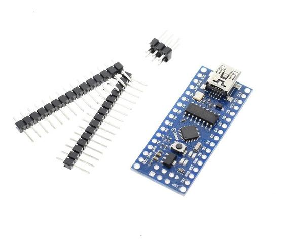 Arduino Nano V 3.0 Rev3 Atmega 328 5v 16mhz - Pronta Entrega