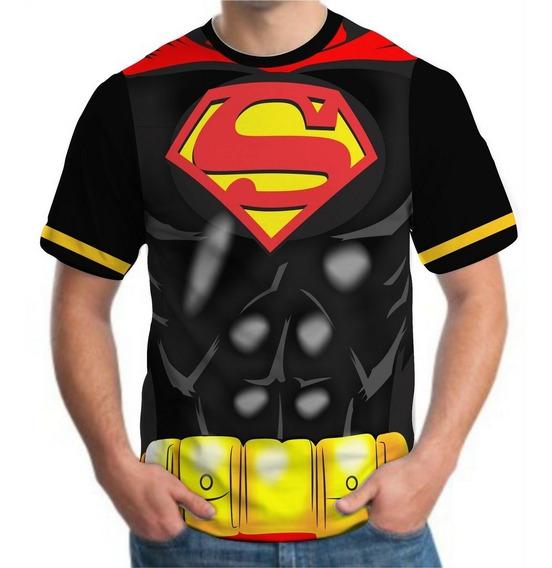 Camiseta Camisa Masculina Roupas Herois Famosas Top 3d