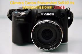 Câmera Canon Powershot Sx510 Hs Semiprofissional + Brindes