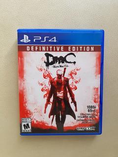 Juego Fisico Ps4 Dmc Devil May Cry: Definitive Edition