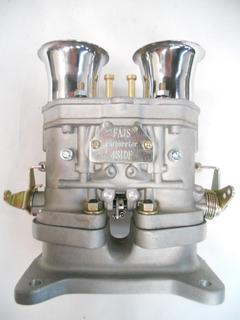 Carburador Weber Idf 48 + Base Adaptadora + Trompetas Rmcomp