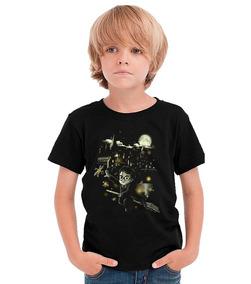 Camiseta Infantil Harry Potter Cod8079