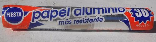 Papel Aluminio 30 Metros