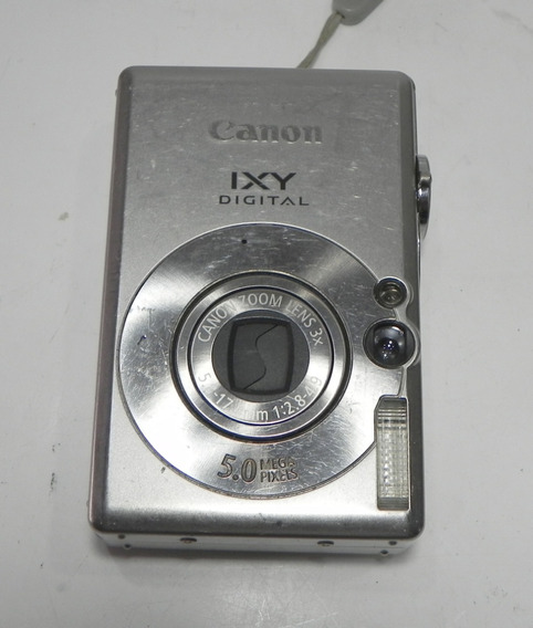Câmera Fotográfica Canon Ixy Digital 60 Retirada De Peças