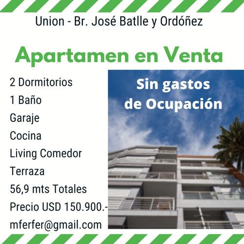 Vendo 2 Dormitorios Y Garaje A Estrenar Oportunidad