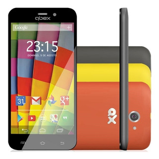 Smartphone Qbex Qx A18 Android 4.4 Dual | Vitrine