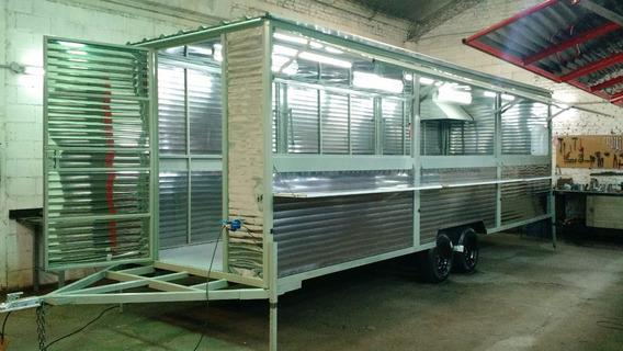 Food Truck 7 Mts. Trailers Gastronomicos 7mts .carros Comida