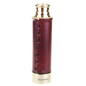 25 * 30 Milímetros Náutico Bronze Zoom Monocular W / Malote