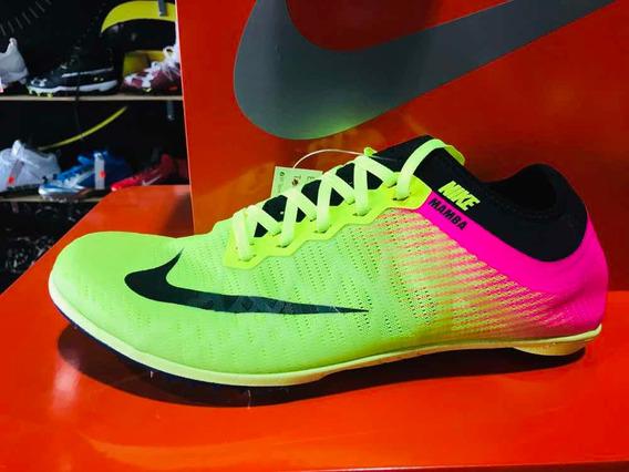 Nike Mamba Atletismo Tartan Picos Spikes Distancia 28.5 Cms