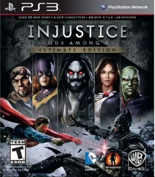 Injustice God Among Us Ps3 Jogo Play3 Português Comprar