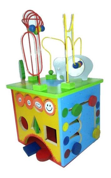 Juguete Cubo Didactico Prono Laberinto