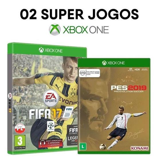 Fifa 17 + Pes 2019 Ed. David Beckham Xbox One - Lacrados