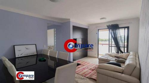 Apartamento À Venda, 70 M² Por R$ 460.000,00 - Macedo - Guarulhos/sp - Ap9631