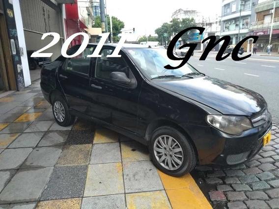 Fiat Siena El 2011 Gnc Negro