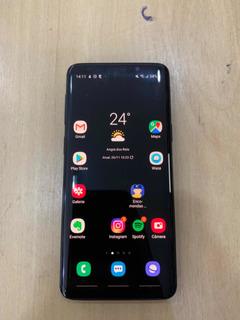Celular Samsung Galaxy S9 128gb Funcionando Perfeitamente