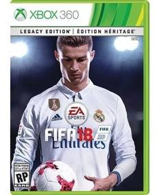 Fifa 18 Xbox 360 Mídia Digital Original Promoção
