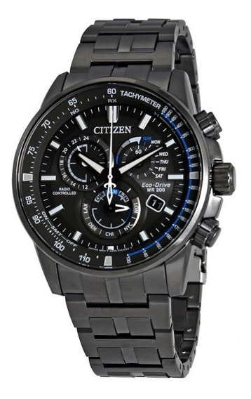 Relógio Citizen Masculino Pcat Multifunction Charcoal Origin