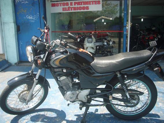 Yamaha Ybr 125 K Preta 2007 R$ 3.999 Baixo Km
