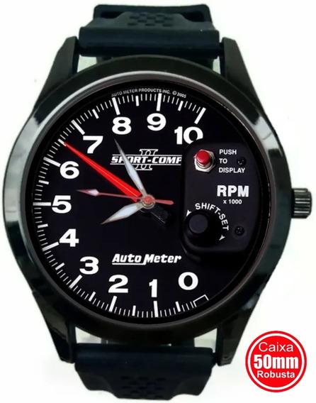 Relógio Autometer Conta Giros Rpm Pressão Turbo Arrancada