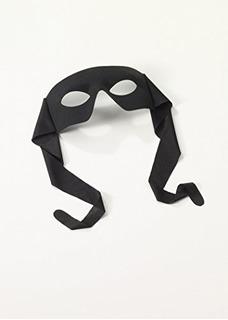 Venetian Mardi Gras Half Mask - Negro