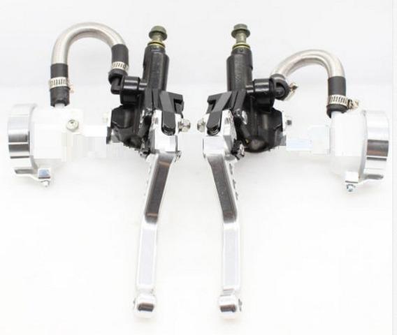 Kit Manicoto Hidraulico Prata Freio/embreagem Moto